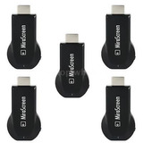 5x1080p Mirascreen Wifi Pantalla Receptor Av Tv Dongle...
