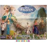 Frozen - Increible Set X 6 Personajes De La Pelicula!