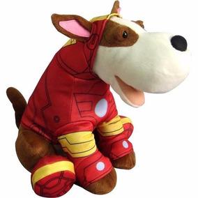 Brinquedo Pelúcia Interativa Cão Spock Homem De Ferro