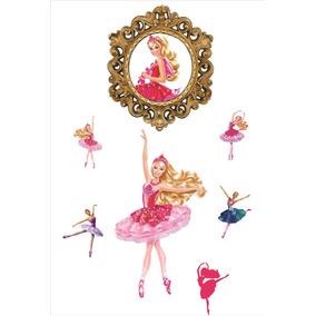 Kit Elipse 60x50cm +6 Displays :barbie Sapatilha Magicas