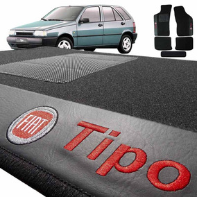 Jogo De Tapete Carpete Automotivo Bordado Fiat Tipo