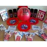 Pack Cotillon Personalizado One Direction Bandas P/20