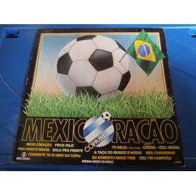 Lp Mexicoração - Copa 86, Disco De Vinil, Pra Frente Brasil