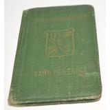 Antiguo Carnet Ues Rama Femenina - Peronismo -1953