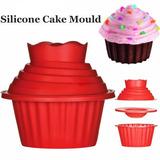 Molde De Silicon Cupcake Gigante