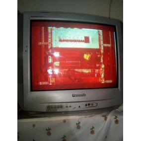 Televisor Panasonic, 24 Pulgadas, Operativo.