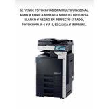 Impresora Konica Minolta Multifuncional Modelo Bizhub 55