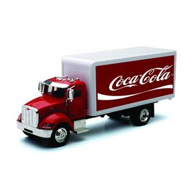 Caminhão Coca Cola Antigo Miniatura Metal 1/43 Frete Grátis