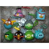 Angry Birds Space Lote De 8 Llaveros Rovio