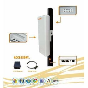 Kit Transmissor E Receptor De Internet 500 Metros Com Visada