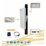 Kit Transmissor E Receptor 4km Internet Longo Alcance