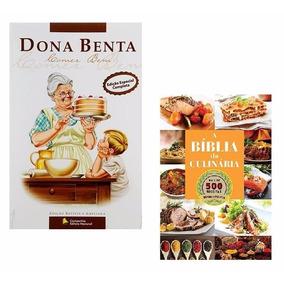 Kit Livros - Dona Benta + A Bíblia Da Culinária (2 Livros) #