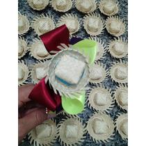 Mini Chapéu Miniatura De Chapéu De Palha Com 100 Uidades
