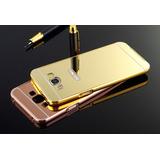 Capa Case Bumper Alumínio Espelhada Celular Galaxy J5 J500