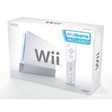 Nintendo Wii | Caja Remote Nunchuk & Juegos - 100% Original