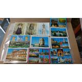 Cartões Postais De Lisboa Fátima Portugal Antigos Originais