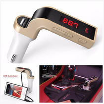 Kit Carro Bluetooth Handsfree Transmissor Fm Mp3 Radio Usb