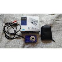 Cámara Sony Cyber-shot 14.1 Megapixeles Y Memoria De 4 Gb