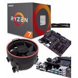 Kit Amd Ryzen 7 1700 Ga-ab350-gaming 3 8gb 2400mhz 12 Msi