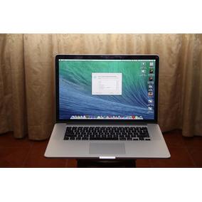 Macbook Pro Retina A1398 Late 2013 I7 16gb 512gb Ssd