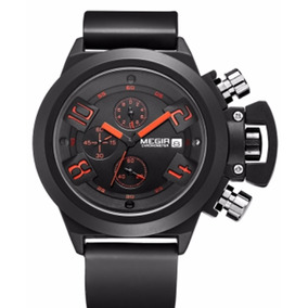 Reloj Megir Super Deportivo Moderno Cronografo Deportivo