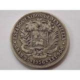 Moneda De Plata. Fuerte 5 Bolívares. Año 1.936
