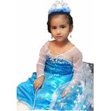 Ana,elsa Y Blanca Nieves Vestidos Frozen Importados Nuevos!!