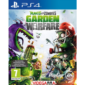 Plants Vs Zombies Garden Warfare - Playstation 4 Ps4 | Vgm