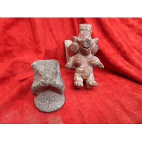 Tecolote De Piedra Para Molcajete Antiguo