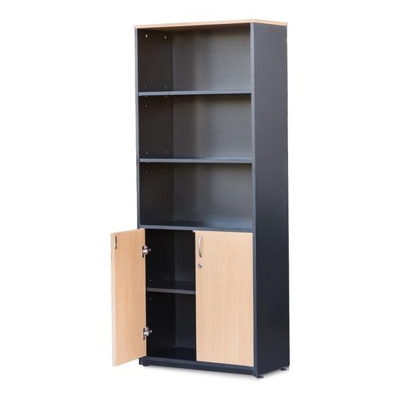 Estantera / Biblioteca 1acalidad - 2 Puertas - Calidad Jmi