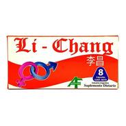 Li Chang X 4 Capsulas - Vigorizante Masculino.