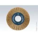 Escova De Aço Circular Latonada Universal 6 X 25mm Brasfort