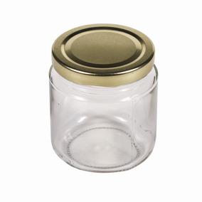 frasco de vidrio con tapa para conservas de 7oz 207ml - Frascos De Cristal