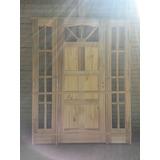 Puerta Exterior Portal Vitrales Para Abrir Beraldi Aberturas