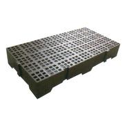 Estrado Pallet Plástico C/ 13 De Altura 41x82 Cm Encaixável