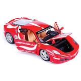 Réplica Colecionável Miniatura 1/24 Ferrari F430 Fiorano