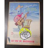 La Voz De Antioquia Medellin Publicidad Antigua 1951 L1