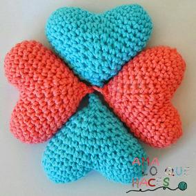 Corazones Rellenos Tejidos A Crochet Ideal Sourvenir