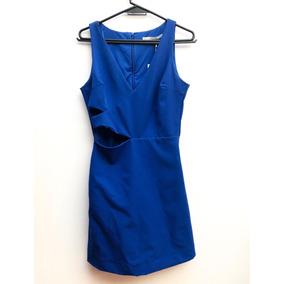 Mono / Vestido Azul Stretch Zara M