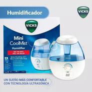 Humidificador Vick Ultrasónico De Vapor Frío 1.8l Vul520war