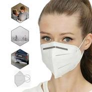 05 Mascaras N95 Proteção Respiratória Pff2