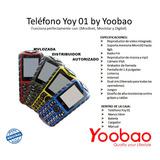 Celular Dual Sim Yoobao Liberado Con Sus Accesorios Sellado