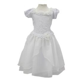 Vestido Infantil Festa Casamento Noivinha-daminha