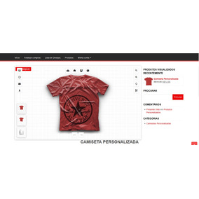 Criar Camiseta Personalizada Uniforme - Informática no Mercado Livre ... bb98a326fb842