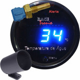 Medidor Temperatura Água Digital Racetronix Led Azul Carro