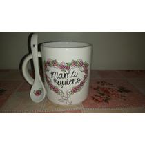 Taza Con Cucharita Dia De La Madre