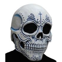 Mascara De Lujo Latex Dia De Muertos Catrin