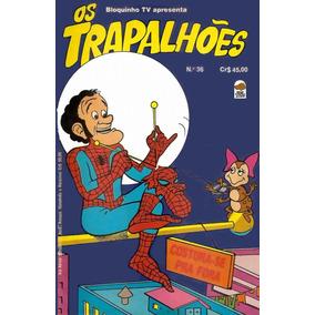 Revista Em Quadrinhos Antigas Os Trapalhoes 3 Pelo Preço D 1