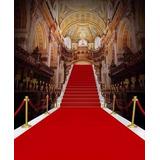 Passadeira Carpete Vermelho Casamento, Festas 10 Metros