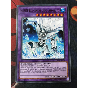 Yu-gi-oh Tcg Elemental Hero Absolute Zero (español)